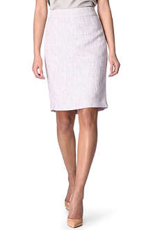 ARMANI COLLEZIONI Sparkle tweed pencil skirt