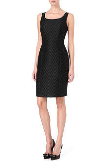 ARMANI COLLEZIONI Jacquard shift dress