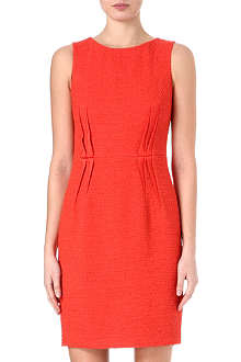 ARMANI COLLEZIONI Sleeveless boucle darts dress