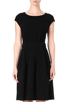 ARMANI COLLEZIONI Wool-blend pocket dress