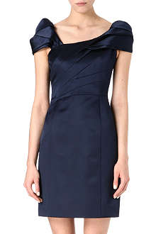 ARMANI COLLEZIONI Ruched off-the-shoulder dress