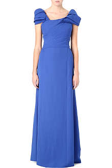 ARMANI COLLEZIONI Pleated maxi dress