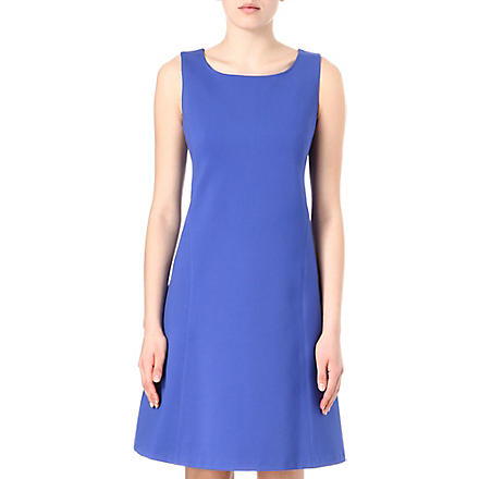 ARMANI COLLEZIONI Flared shift dress (Lilac
