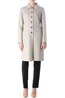 ARMANI COLLEZIONI Single-breasted cashmere coat