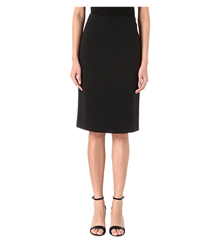 ARMANI COLLEZIONI Classic pencil skirt (Black