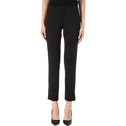 ARMANI COLLEZIONI Classic straight trousers (Black