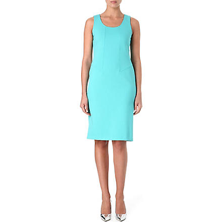 ARMANI COLLEZIONI Classic scoop-neck dress (Aqua