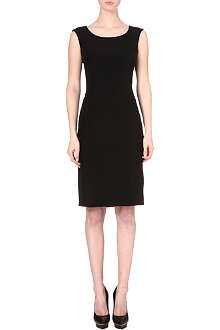 ARMANI COLLEZIONI Crepe shift dress