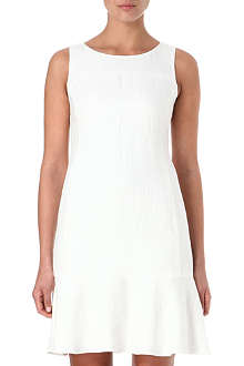 ARMANI COLLEZIONI Sleeveless linen dress