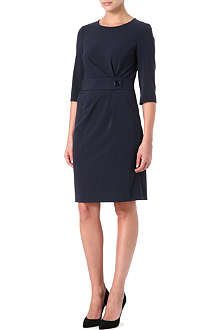 ARMANI COLLEZIONI Belted shift dress
