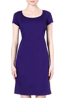 ARMANI COLLEZIONI Cap-sleeved shift dress