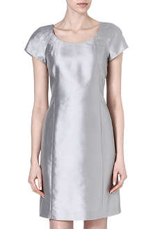 ARMANI COLLEZIONI Silk-blend shift dress