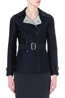 ARMANI COLLEZIONI Double-breasted trench coat