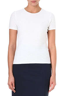 ARMANI COLLEZIONI Panel knitted top