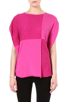 ARMANI COLLEZIONI Colour-blocked top