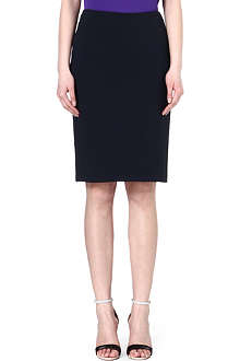 ARMANI COLLEZIONI Stretch-cotton pencil skirt