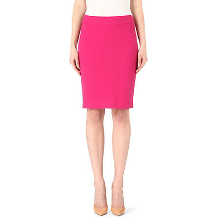 ARMANI COLLEZIONI Wool pencil skirt (Pink