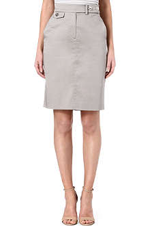 ARMANI COLLEZIONI Pocket detail pencil skirt