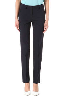 ARMANI COLLEZIONI Slim-fit suit trousers