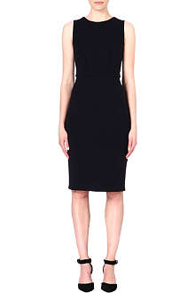 ARMANI COLLEZIONI A-line stretch-crepe dress