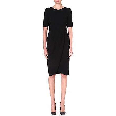 ARMANI COLLEZIONI Tulip dress (Black