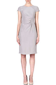ARMANI COLLEZIONI Ruched-side dress
