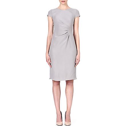 ARMANI COLLEZIONI Ruched-side dress (Grey