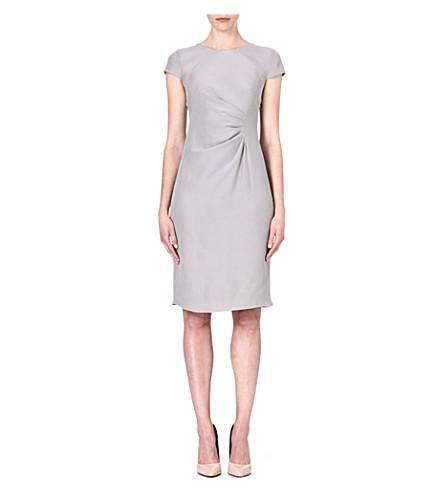 ARMANI COLLEZIONI Ruched-side dress (Grey