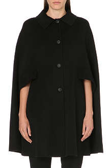 ARMANI COLLEZIONI Two-pocket wool-blend cape