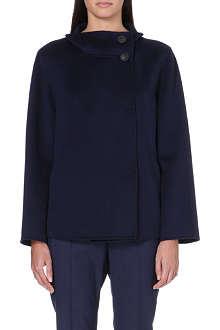 ARMANI COLLEZIONI Cashmere swing jacket