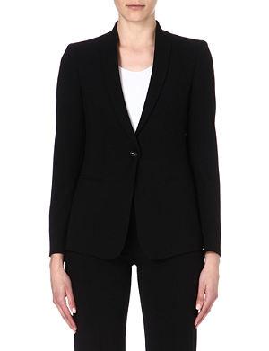 ARMANI COLLEZIONI Classic wool blazer