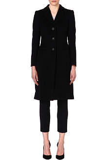 ARMANI COLLEZIONI Single-breasted wool coat