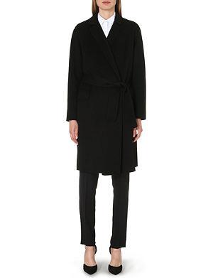 ARMANI COLLEZIONI Cashmere wrap coat