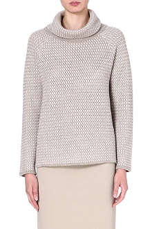 ARMANI COLLEZIONI Roll-neck knitted jumper