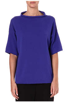 ARMANI COLLEZIONI Cashmere short-sleeved top