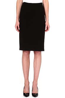 ARMANI COLLEZIONI Wool-blend pencil skirt