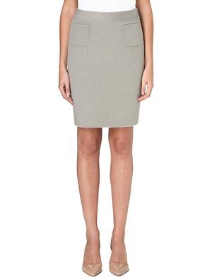 ARMANI COLLEZIONI Streamlined pencil skirt