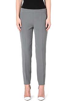 ARMANI COLLEZIONI Straight leg crop trousers