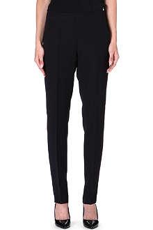 ARMANI COLLEZIONI Straight-leg cropped trousers