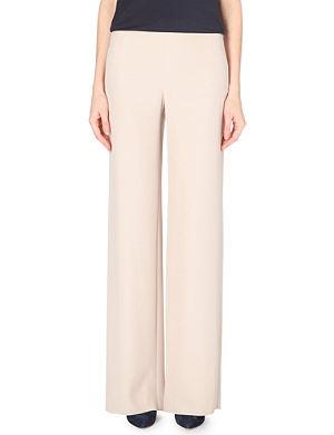 ARMANI COLLEZIONI High-rise wide-leg trousers