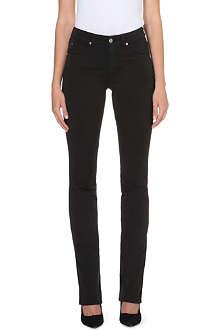 ARMANI COLLEZIONI Straight high-rise jeans