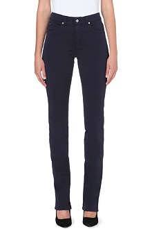 ARMANI COLLEZIONI Straight high-waist jeans
