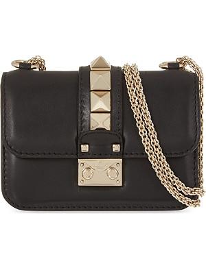 VALENTINO Rockstud lock mini clutch bag