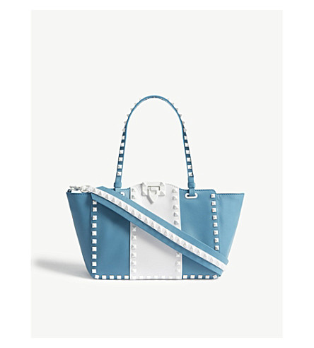 VALENTINO Free Rockstud small shoulder bag (Cerulean