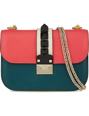 VALENTINO Rockstud lock medium shoulder bag