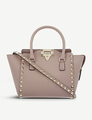 VALENTINO Rockstud mini leather tote
