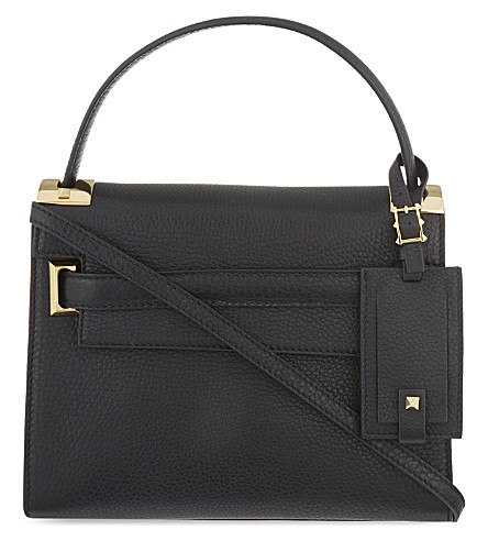 VALENTINO My Rockstud small leather shoulder bag (Black