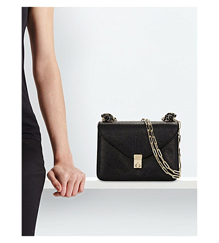 VALENTINO Panther Small Leather Shoulder Bag