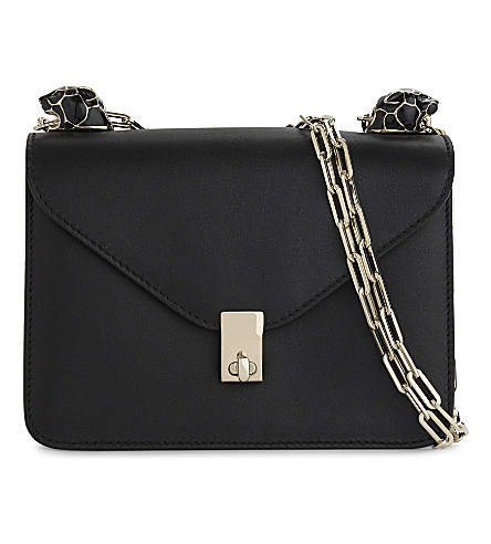 VALENTINO Panther small leather shoulder bag (Black