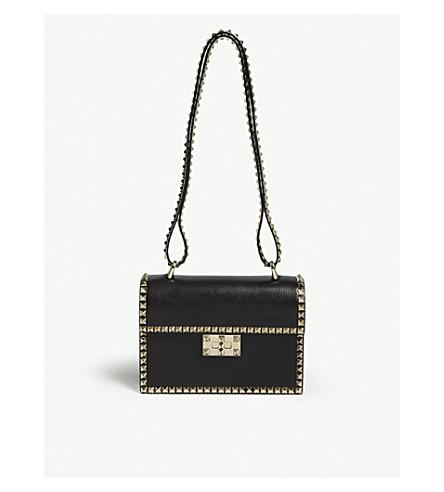VALENTINO No limit rockstud leather satchel (Black